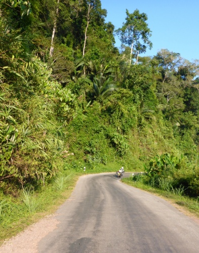 Heading to Sayaboury, Laos