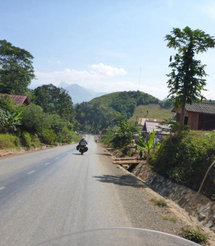 Not far from Luang Prabang, Laos