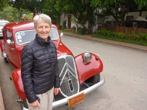 Superbe Traction-Avant datant de 1950 à Luang Prabang, Laos