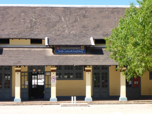 L'école maternelle de Luang Prabang en plein centre ville