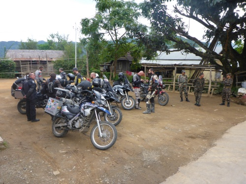The first of 4 checkpoints in Manipur