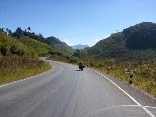 Still going up, Laos