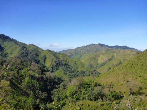 We've nearly reached the top 2000m, Laos