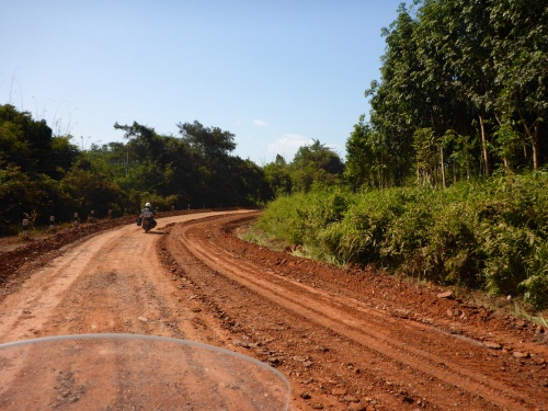 Heading for Vientiane, Laos