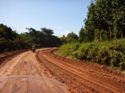 Heading for Vientiane, Laos