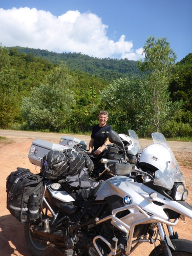 We are out of the mountains, Laos