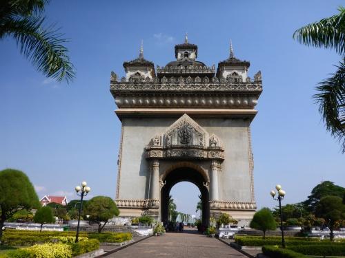 Patuxai, Vientiane's Arc de Triomphe, Laos
