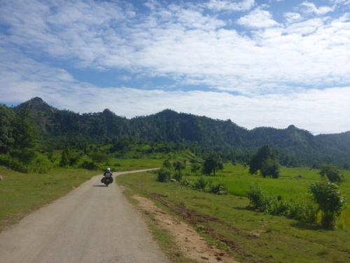 Gorgeous road day 2 in Myanmar