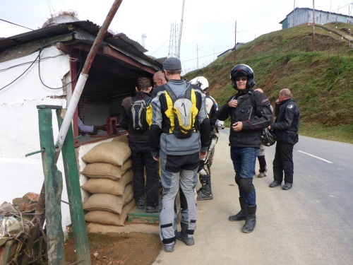 Another checkpoint in Manipur where passports are checked and logged