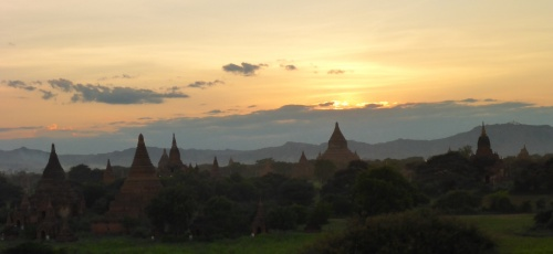Old Bagan, Myanmar