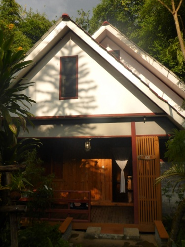 Our lovely cottage accommodation at Kalaw, Myanmar