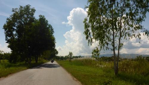 Heading into Nyaungshwe, Myanmar