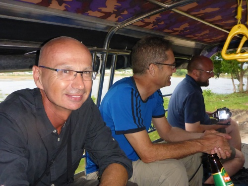 We are off to Taunggyi fire balloon festival, Myanmar - Garth, Kristjan and Rolfe