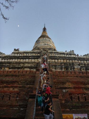 Shwesandaw pagoda, old Bagan, Myanmar
