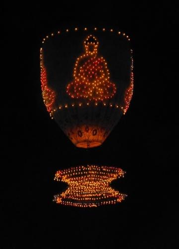 Taunggyi fire balloon festival, Myanmar