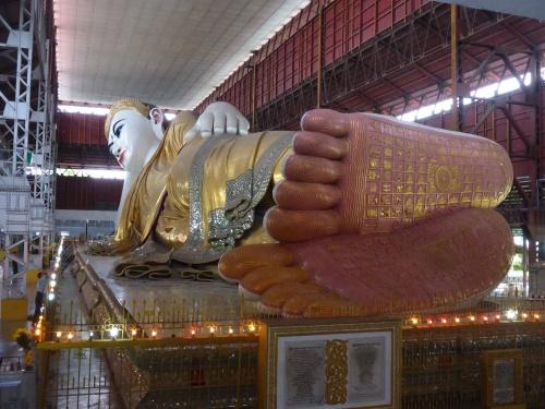 Reclining Buddha, Yangon