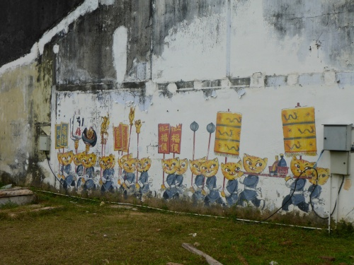 Cats & Humans Happily Living Together - George Town, Penang