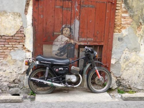 Boy on a Motorbike - George Town, Penang