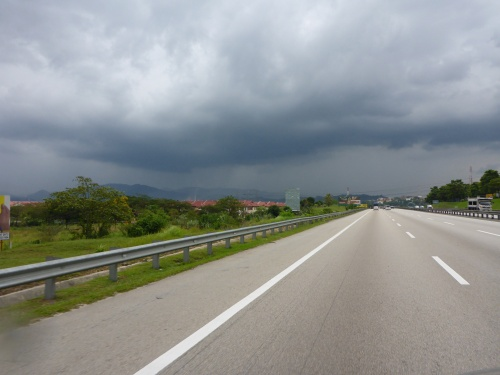 More rain all the way to Kuala Lumpur today