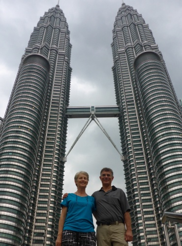 End of this leg of our trip, Kuala Lumpur, Malaysia and feeling good!