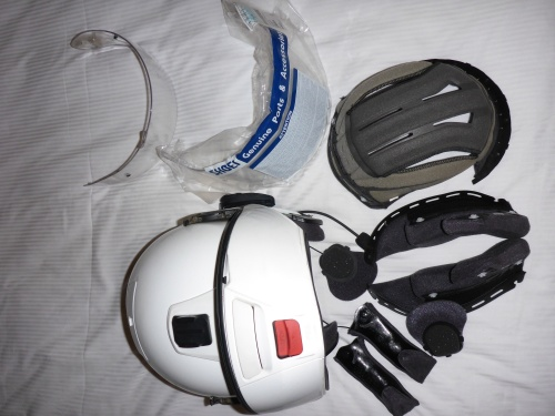Time to freshen up the helmets in Kuala Lumpur