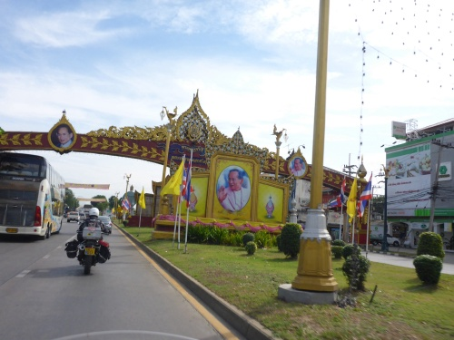 Leaving Ayutthaya on the King 's birthday