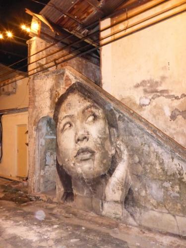 Jalan Nagore street art, George Town, Malaysia