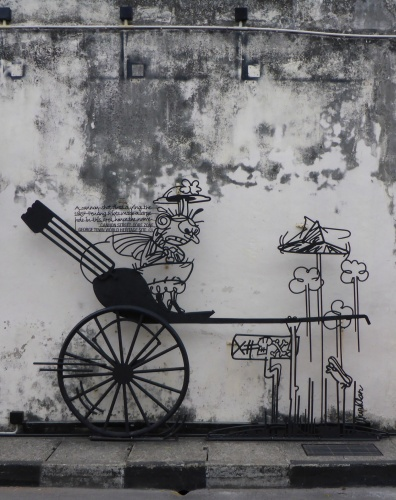 Cannon Street sculpture, George Town, Penang