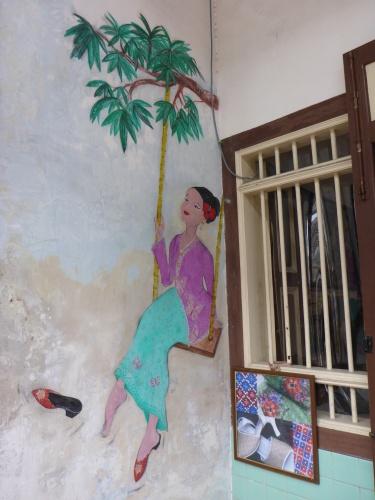 Street art, George Town, Penang