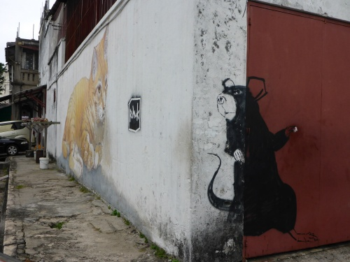 The Rat was painted after Skipyy - George Town, Penang