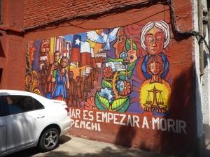 Barrio Brasil, Santiago, Chile