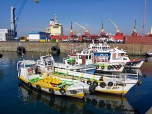 Valparaiso port, Chile