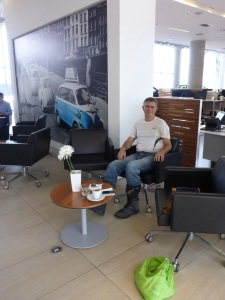 BMW Santiago waiting area