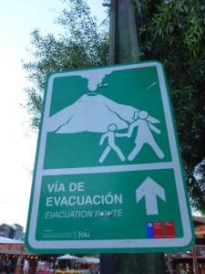 This sign was found in many places we went to in Chile