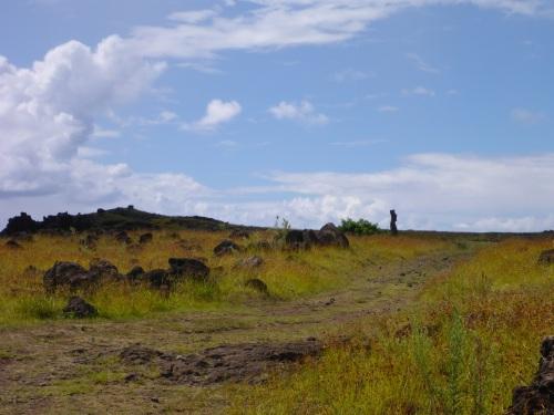 Walking towards Te Ihu O Motu Pare