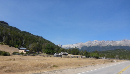 Another bend and the scenery changes again along the Camino de los  Siete Lagos through the Nahuel Huapi national park