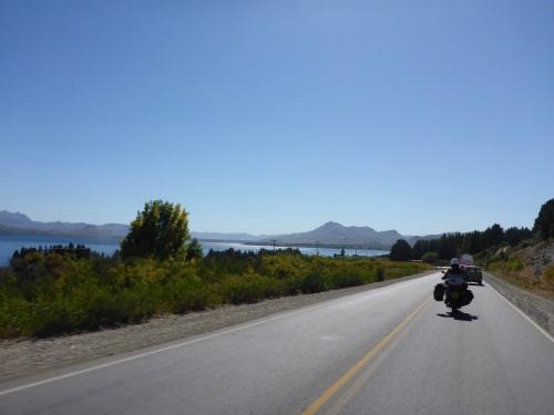 Leaving San Carlos de Bariloche