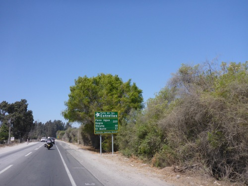 We are on the Ruta de les Estrelles, where many astronomical observatories are located