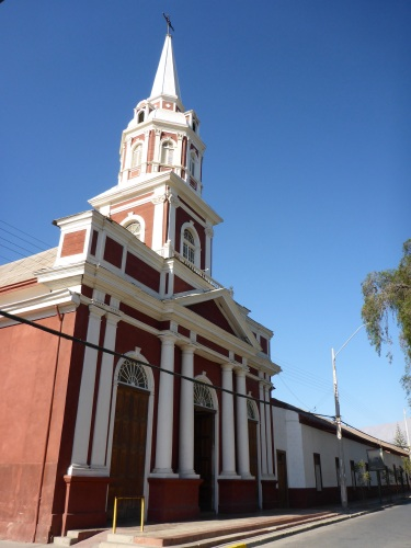 Iglesia Inmaculada Conception in Vicuña