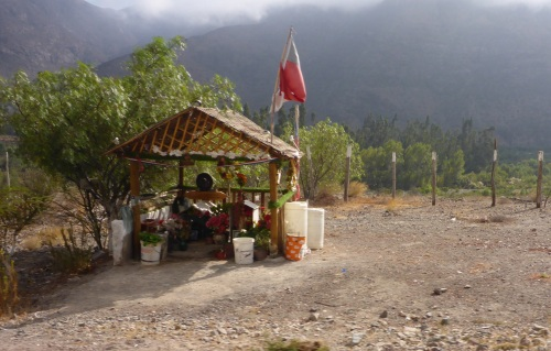 Shrine to Defunta Correa