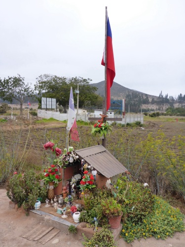 Roadside shrine in Chie