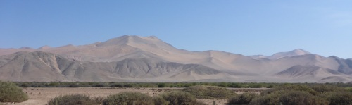 Heading west out of Copiapo to Taltal