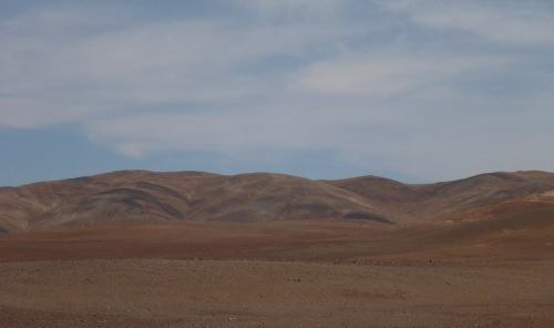 Shade of reds and browns of the Atacama