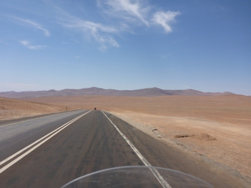 The Atacama is vast and beautiful and deserted