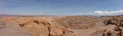 Photos cannot capture what the eye does - part of the Salar de Atacama