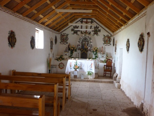 1750 church in Tocanao