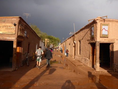 San Pedro de Atacama after another storm