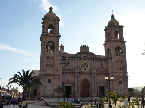 Tacna neo-renaissance cathedral