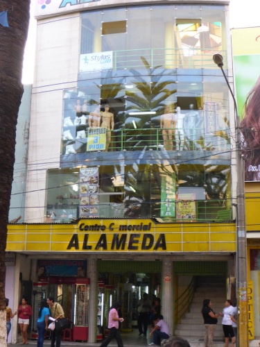 Unusual store in Tacna
