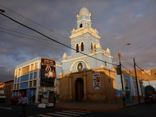 Espiritus Santo church in  Tacna